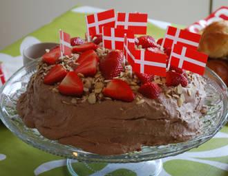 Billede af Chokolade Lagkage