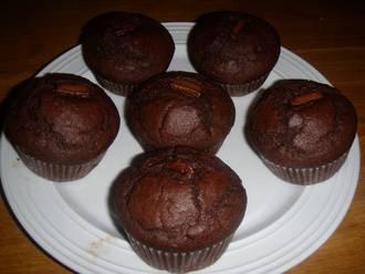 Billede af Amerikanske chokolademuffins