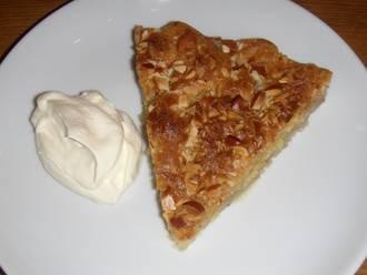 Billede af Bagt æblekage
