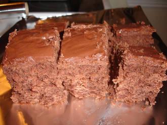 Billede af Chokoladekage - en klassiker