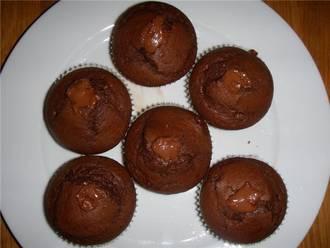 Billede af Chokolademuffins med mokkasmag